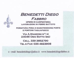 Benedetti Diego Fabbro